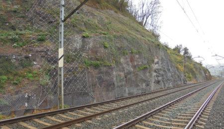 Estabilización de taludes en vías férreas - Euskadi