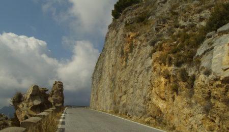 Estabilización de taludes en carretera