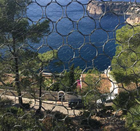 Protección en villa particular con barrera dinámica