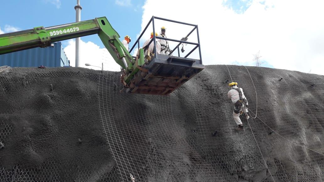 REFORZAMIENTO DE TALUD MEDIANTE SOIL NAILING Y SHOTCRETE
