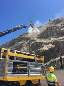 Estabilización y protección de taludes en LAV Antequera-Granada